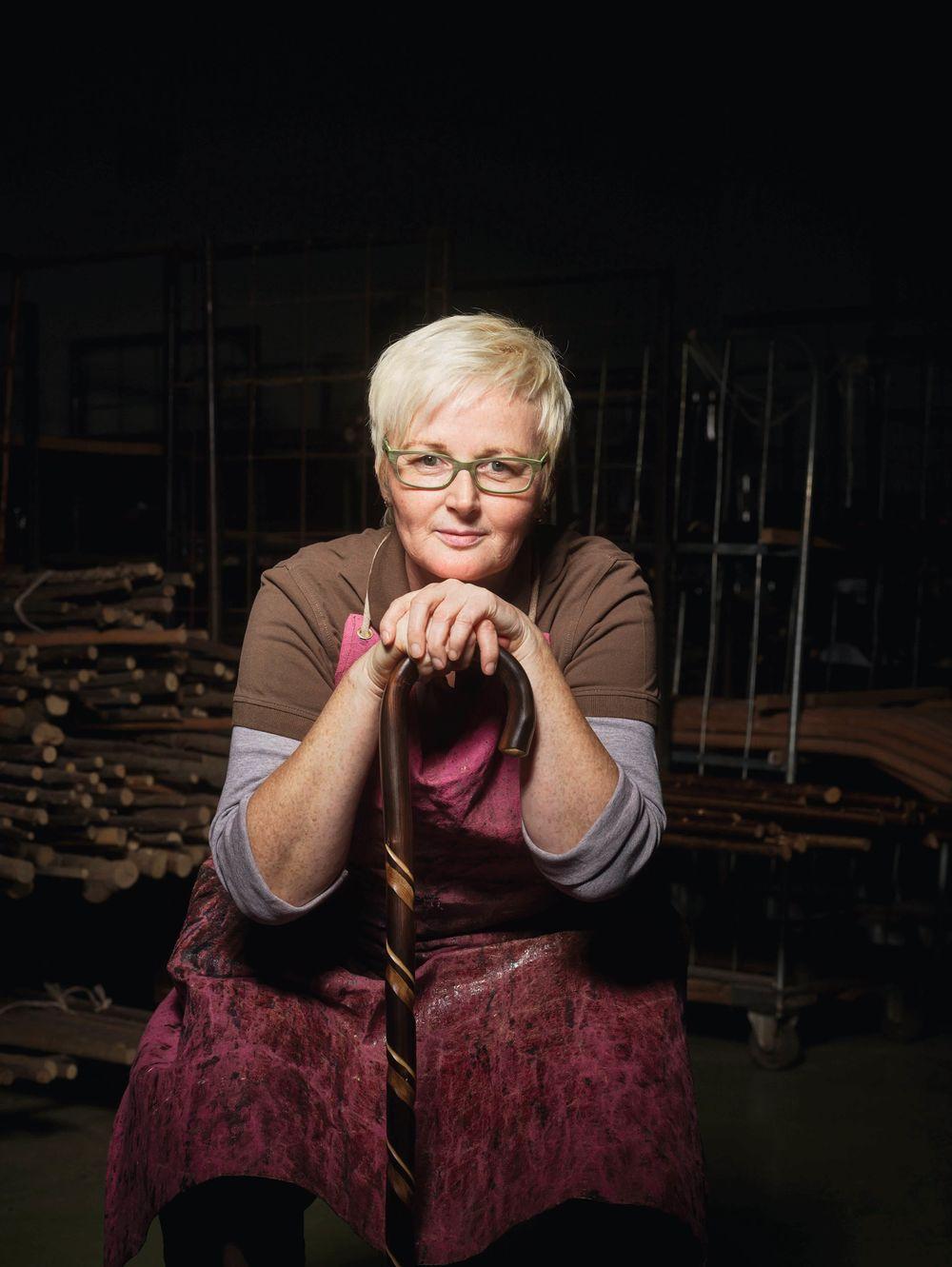Evelyn Erk, Endkontrolle und Konfektionierung