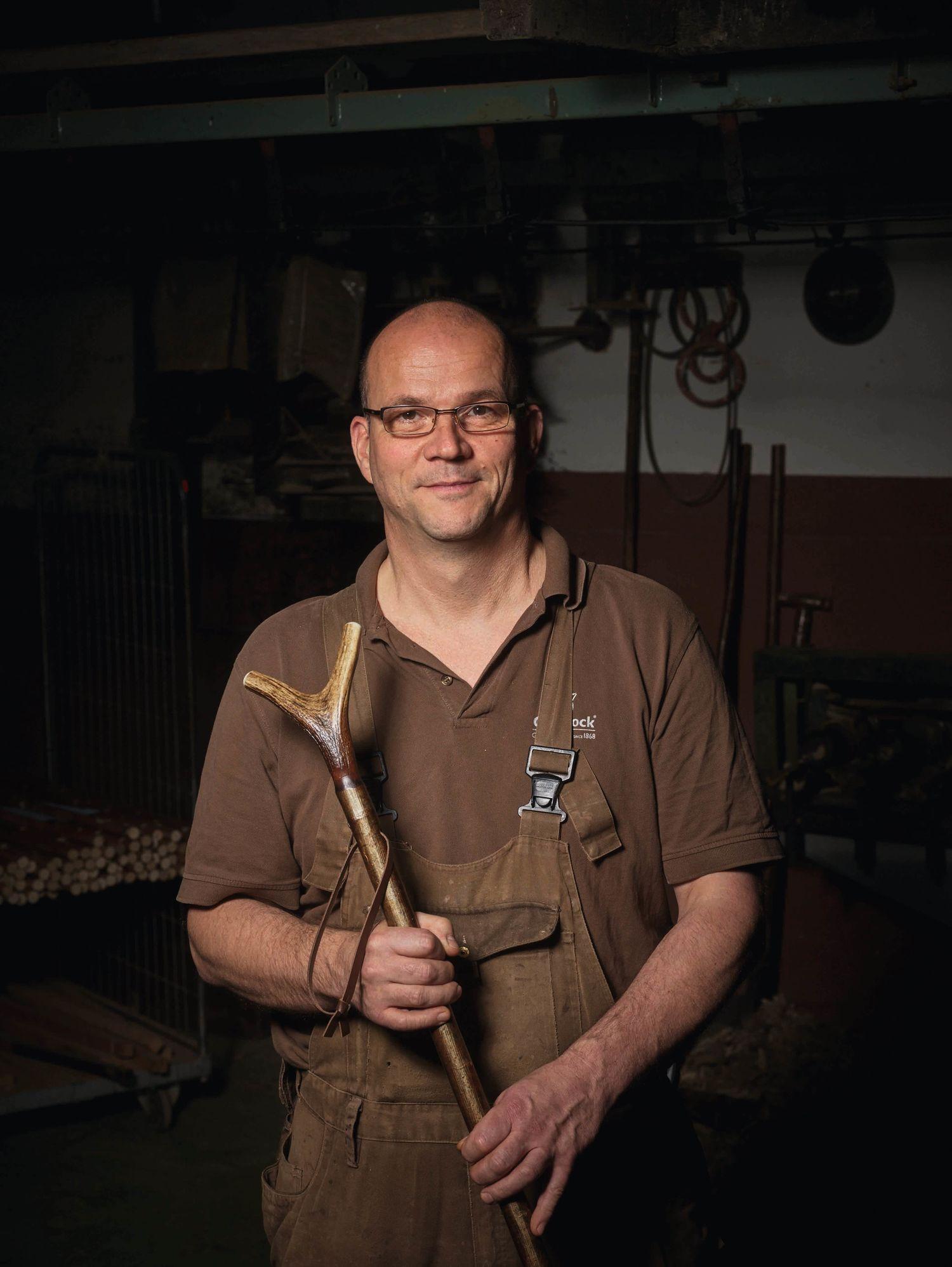 Dirk Ludolf, Produktionsleiter in Oberrieden